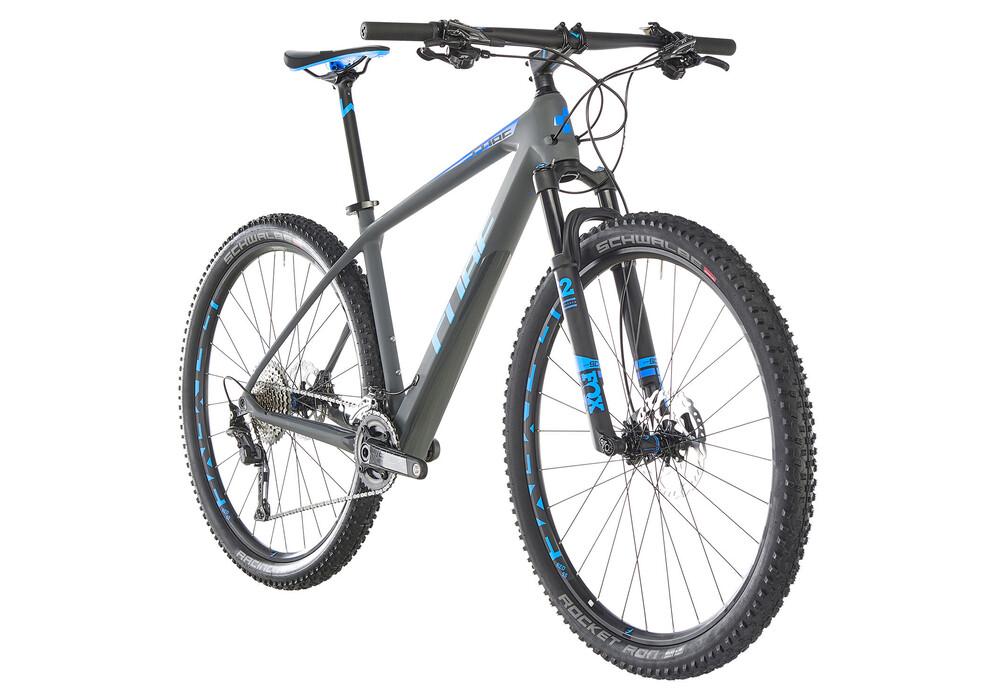 Cube Reaction C 62 Sl Grey N Blue Online Kaufen Fahrrad De